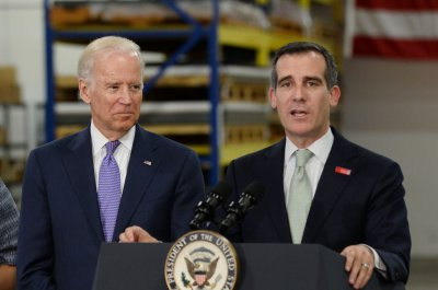 LA Mayor Eric Garcetti endorses Joe Biden for president