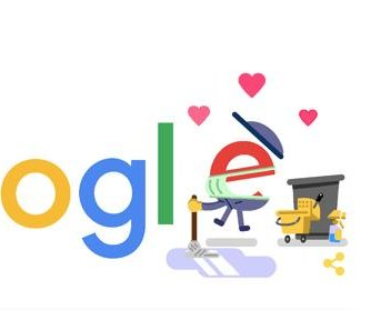 Google recognizes custodial and sanitation workers with new Doodle