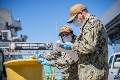 Navy transfers 90 sailors from quarantine to USS Kidd