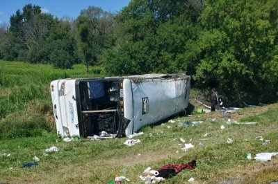 , Dozens hospitalized after tour bus rolls over in upstate New York, Forex-News, Forex-News