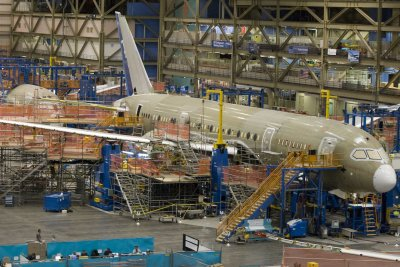 Boeing says a Dreamliner order is canceled