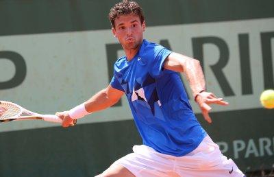 Dimitrov wins on Swiss Open upset