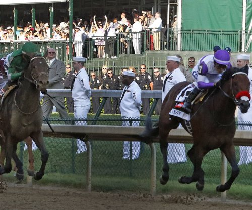 Kentucky Derby winner Nyquist pulls out of Belmont