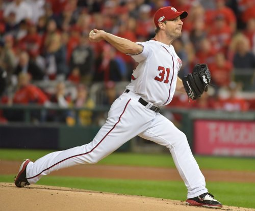 Max Scherzer K's 14 as Washington Nationals top Los Angeles Dodgers