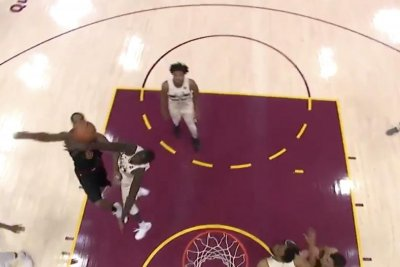 Thon Maker stuffs J.R. Smith after series of dribble moves