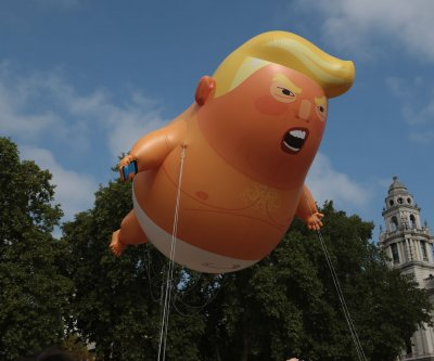 California protesters to fly 'Baby Trump' balloon