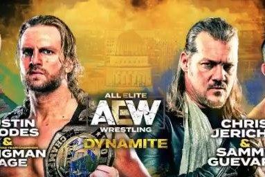 AEW Dynamite: The Elite, Inner Circle collide