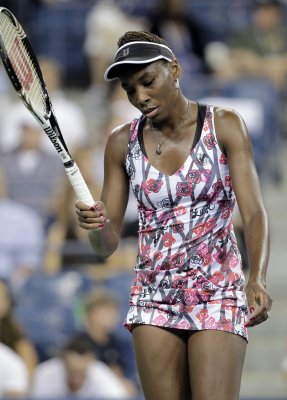 Venus Williams has back injury