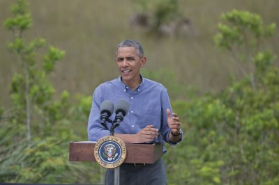Obama in Everglades says climate change can't be denied