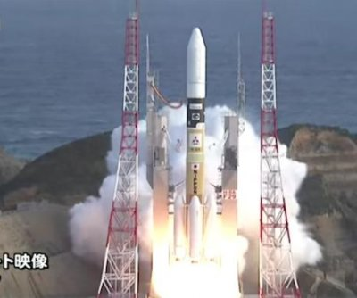 Japan launches first commercial satellite
