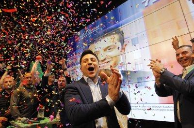 Comedian Volodymyr Zelensky elected Ukraine's president