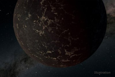 Study: NASA data shows Earth-sized exoplanet lacks atmosphere