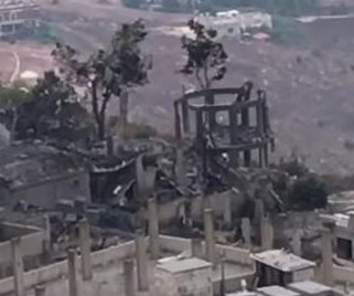 Major explosion at arms depot in Lebanon injures 4