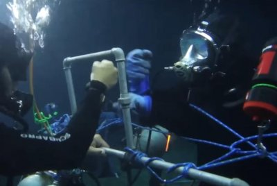 Egyptian scuba diver stays underwater for 145 hours