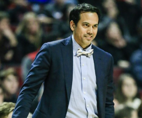 Erik Spoelstra 'grateful and blessed' to coach Miami Heat