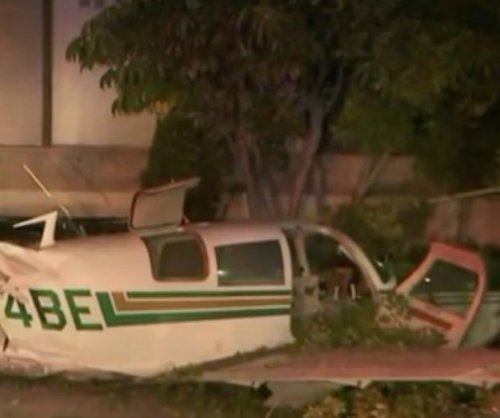 Pilot, passenger survive small plane crash near LA supermarket