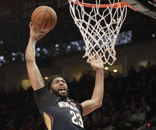 Anthony Davis questionable heading into Pelicans' visit to Celtics