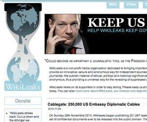 WikiLeaks not so public about itself
