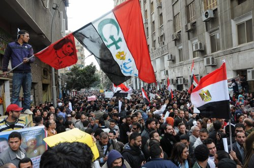Egypt rallies on revolution anniversary