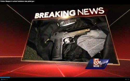 Ex-student with pellet gun triggers school lockdown