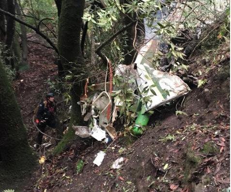 California businessman presumed dead after single-engine plane crash