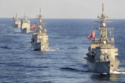 Japan to deploy fleet of warships to Indian Ocean