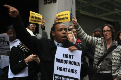 Ugandan gay rights activist seeks asylum in U.S.