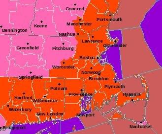 Massachusetts hit hard by snowstorm