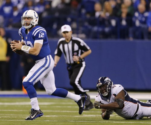 Indianapolis Colts QB Andrew Luck hopeful to practice this week