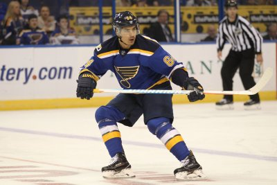 Nail Yakupov has productive night in home debut for St. Louis Blues