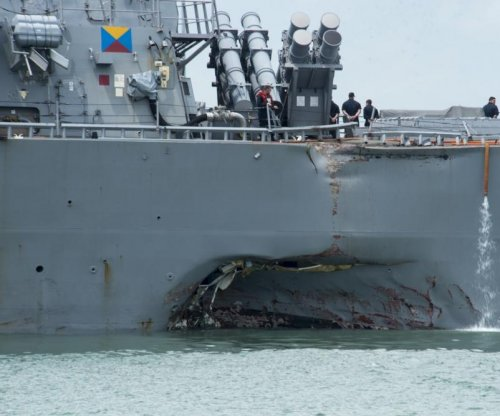 Navy to repair USS John S. McCain in Japan