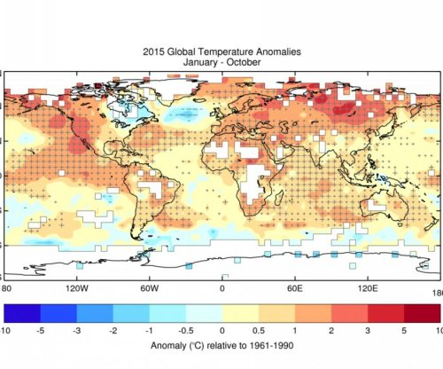U.N.: 2015 will be warmest year on record