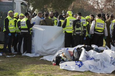 Four dead, 15 injured in Jerusalem truck ramming attack