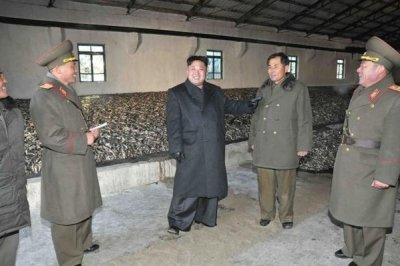 Report: North Korea turning weapons plants into fishery stations