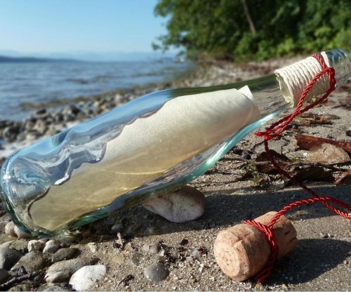 English boy finds message in a bottle from girl in Canada
