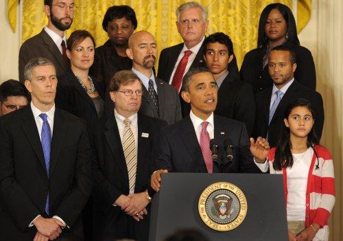 Obama revamps Bush education initiative