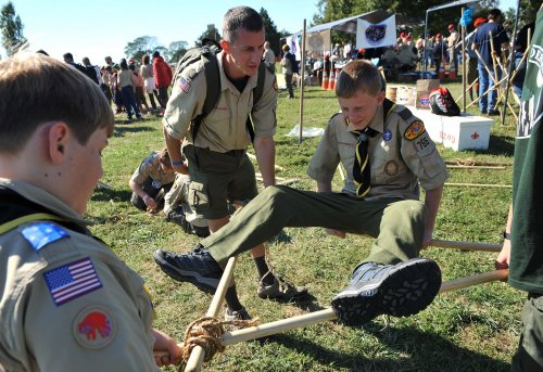 Overweight advocates decry Boy Scout Jamboree policy