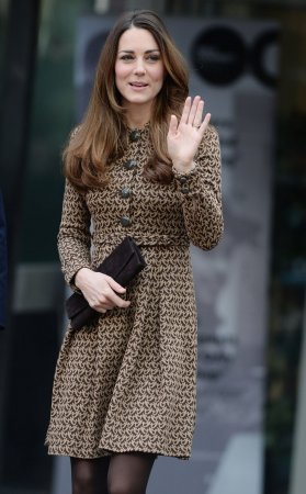 Kate Middleton visits Treehouse Children's Hospice