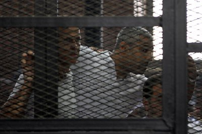 BBC observes moment of silence for imprisoned Al Jazeera journalists
