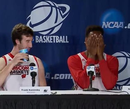 Nigel Hayes caught on hot mic