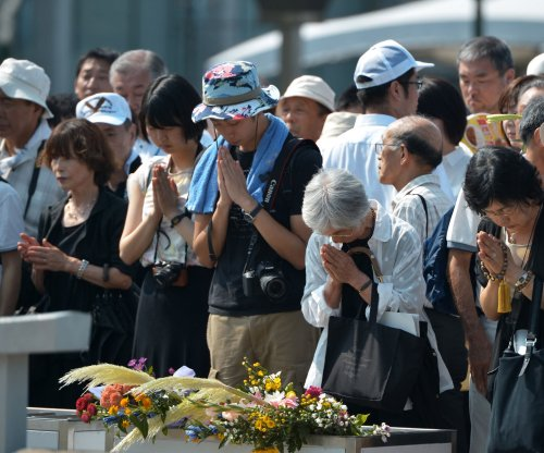 Hiroshima survivors denounce Shinzo Abe's security bills
