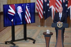 United States agrees to share nuclear submarine tech with Australia
