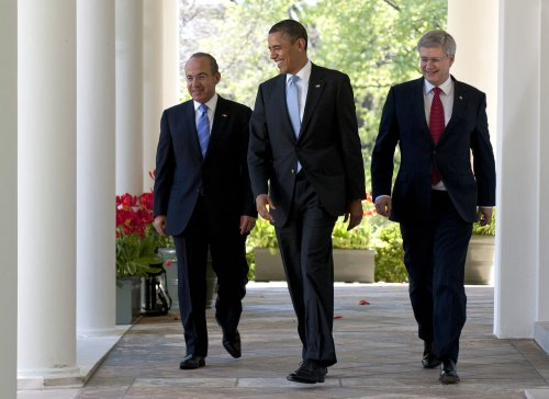 Obama, Harper, Calderon: Cut outdated regs