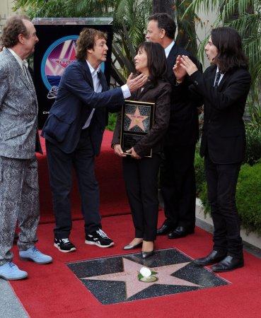 George Harrison gets star on Walk of Fame