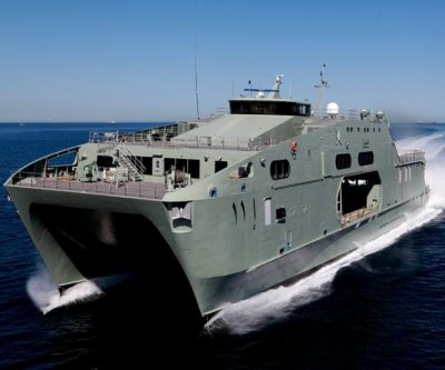 Austal delivers high-speed support vessel to Oman