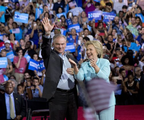 Hillary Clinton officially unveils Tim Kaine as VP pick