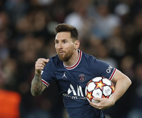 Champions League soccer: Lionel Messi scores twice, leads PSG over Leipzig