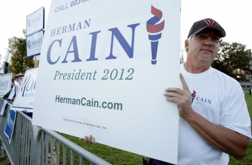 Cain, Romney neck and neck in Iowa
