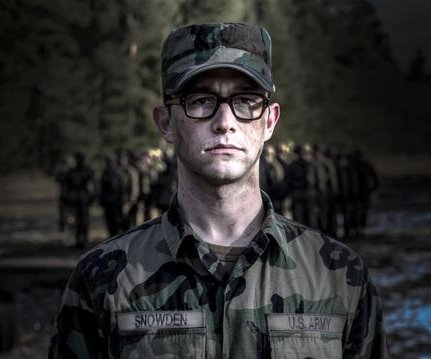 Joseph Gordon-Levitt shares first photo as Edward Snowden