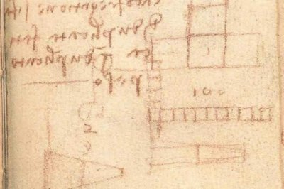 Scribbles found to be Leonardo da Vinci's earliest notes on laws of friction